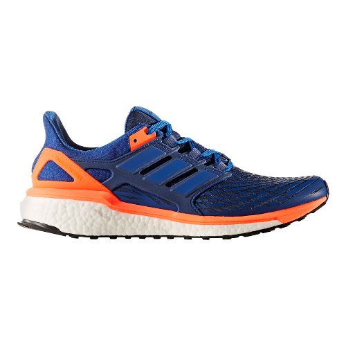 Mens adidas Energy Boost Running Shoe - Royal/Orange 11.5