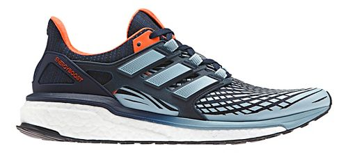 Mens adidas Energy Boost Running Shoe - Navy/Grey 13