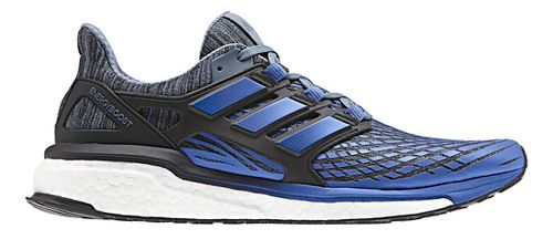 Mens adidas Energy Boost Running Shoe - Blue/Black 11