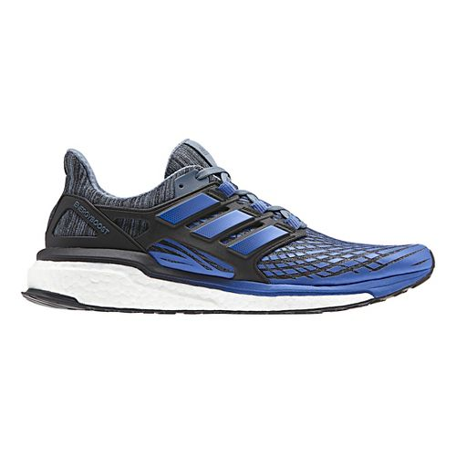Mens adidas Energy Boost Running Shoe - Blue/Black 12.5