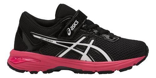 Kids ASICS GT-1000 6 Running Shoe - Dark Grey/Pink 3Y