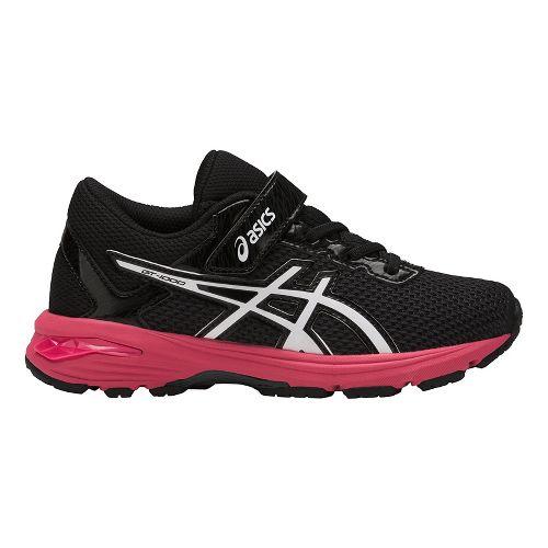 Kids ASICS GT-1000 6 Running Shoe - Dark Grey/Pink 2Y
