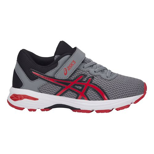 Kids ASICS GT-1000 6 Running Shoe - Pink/White 11C