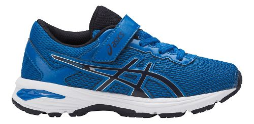 Kids ASICS GT-1000 6 Running Shoe - Blue/Black 12C