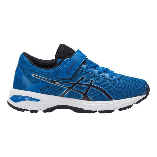 Kids ASICS GT-1000 6 Running Shoe - Blue/Black 11C