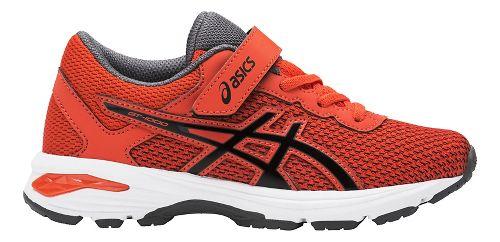 Kids ASICS GT-1000 6 Running Shoe - Red/Black 12C