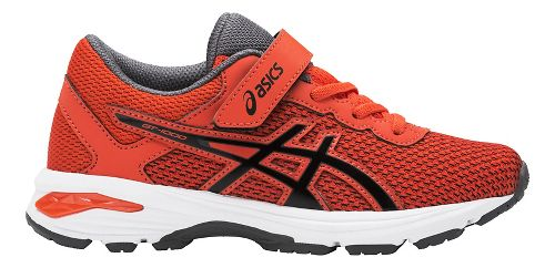 Kids ASICS GT-1000 6 Running Shoe - Red/Black 3Y