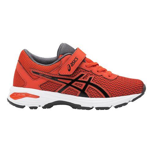 Kids ASICS GT-1000 6 Running Shoe - Red/Black 13C