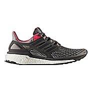 Womens adidas Energy Boost Running Shoe - Grey/Pink 7