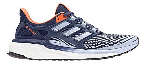 Womens adidas Energy Boost Running Shoe - Indigo/Orange 10.5