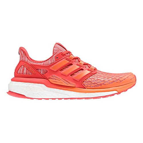 Womens adidas Energy Boost Running Shoe - Orange 10