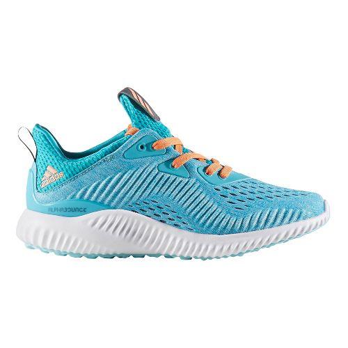 adidas AlphaBounce EM Casual Shoe - Energy Blue/White 6.5Y