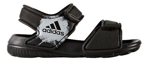 adidas AltaSwim Sandals Shoe - Core Black/White 6C
