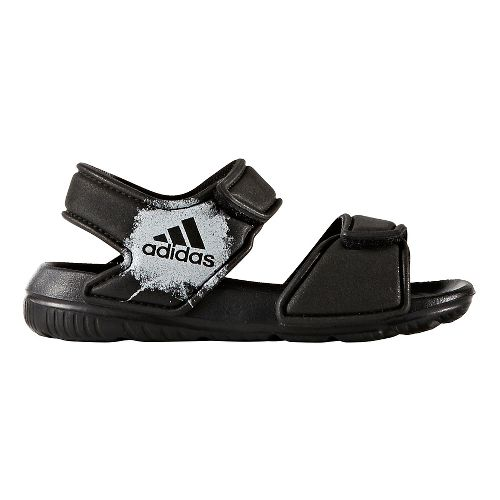 adidas AltaSwim Sandals Shoe - Core Black/White 9C