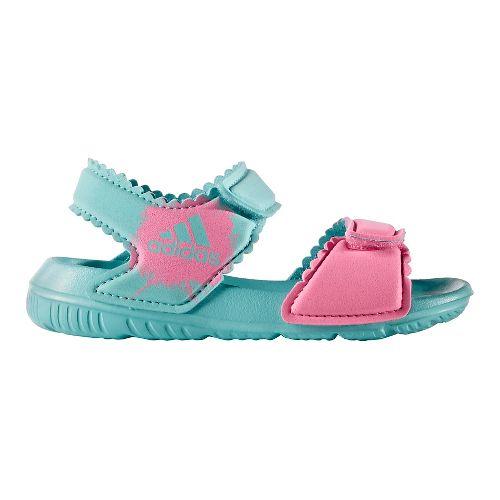 adidas AltaSwim Sandals Shoe - Mint/Pink 8C