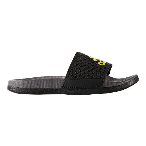 adidas Adilette CF+ Sandals Shoe - Black/Yellow 5Y