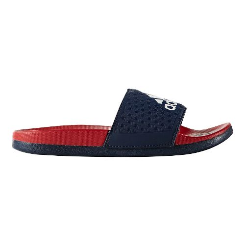 adidas Adilette CF+ Sandals Shoe - Navy/Red 12C