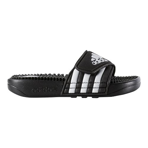 Kids adidas Adissage Sandals Shoe - Black/White 6Y