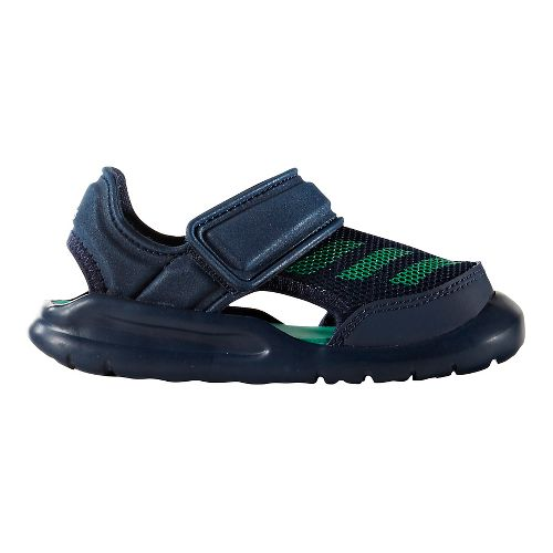 adidas FortaSwim Sandals Shoe - Navy/Green 5C