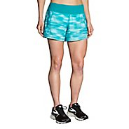 "Womens Brooks Chaser 5"" Printed Lined Shorts"