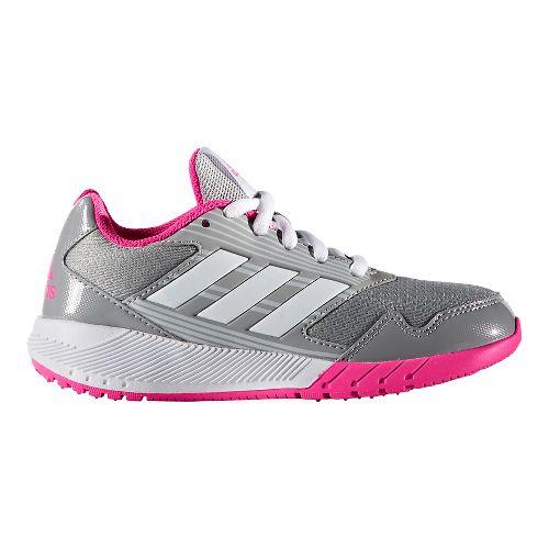 adidas Altarun Running Shoe - Grey/Shock Pink 11.5C