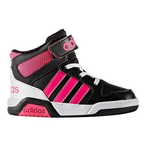 adidas BB9TIS Casual Shoe - Black/Shock Pink 10C