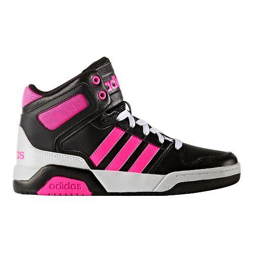adidas BB9TIS Casual Shoe - Black/Shock Pink 5.5Y