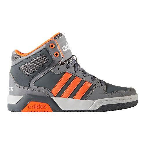 adidas BB9TIS Casual Shoe - Grey/Orange 7Y
