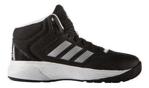 adidas Cloudfoam Ilation Mid Casual Shoe - Black/Silver 6.5Y