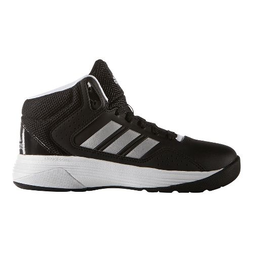 adidas Cloudfoam Ilation Mid Casual Shoe - Black/Silver 2.5Y