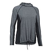 Womens Under Armour Threadborne Train Twist Half-Zips & Hoodies Technical Tops