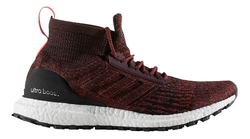 Mens adidas Ultra Boost ATR Running Shoe - Dark Burgundy/Black 14