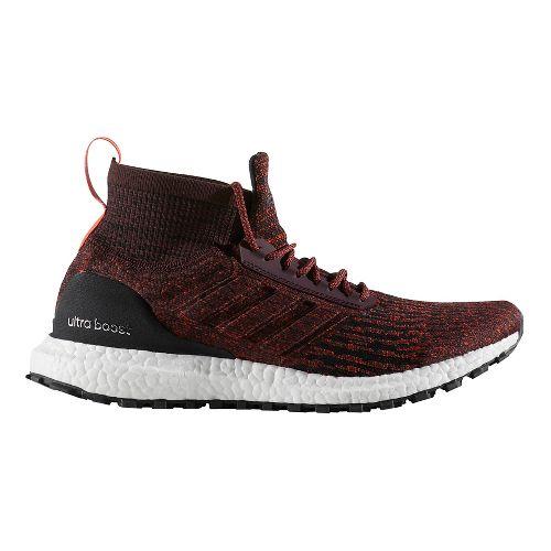 Mens adidas Ultra Boost ATR Running Shoe - Dark Burgundy/Black 11