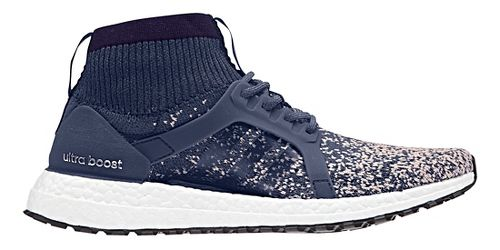 Womens adidas Ultra Boost X ATR Running Shoe - Indigo/Pink 11