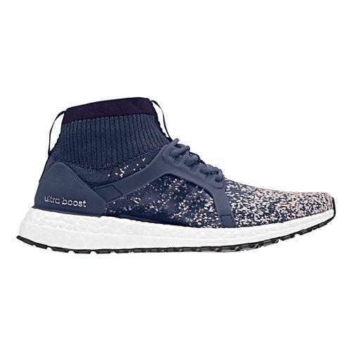 Womens adidas Ultra Boost X ATR Running Shoe - Indigo/Pink 8.5