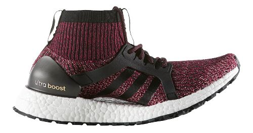Womens adidas Ultra Boost X ATR Running Shoe - Ruby/Black 10.5
