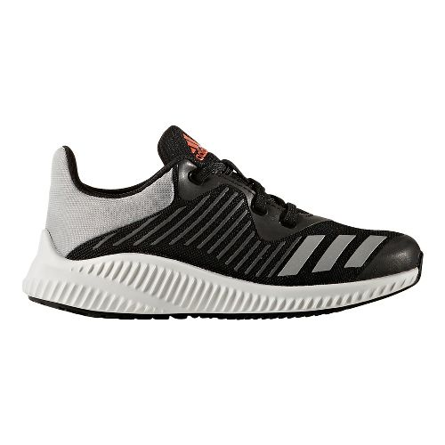 adidas FortaRun Running Shoe - Black/Red 7Y