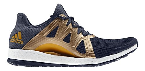 Womens adidas PureBoost Xpose Running Shoe - Navy/Gold 10