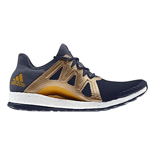 Womens adidas PureBoost Xpose Running Shoe - Navy/Gold 10.5