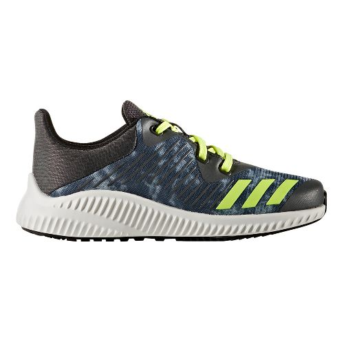 adidas FortaRun Printed Running Shoe - Dark Grey/Yellow 6.5Y