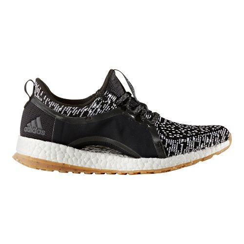 Womens adidas PureBoost X ATR Running Shoe - Black/White 10.5