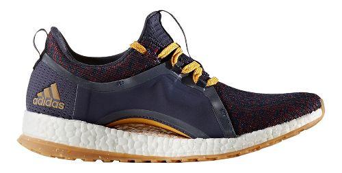 Womens adidas PureBoost X ATR Running Shoe - Ink/Yellow 6.5