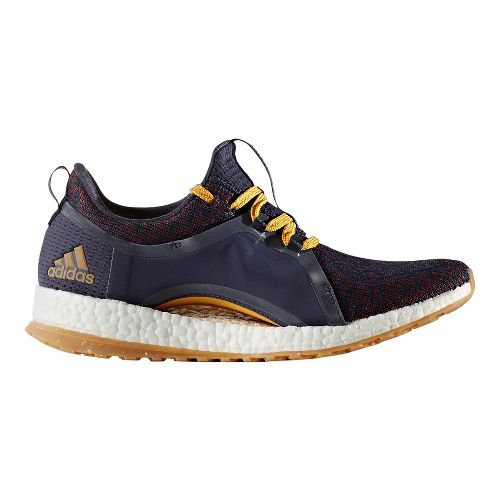 Womens adidas PureBoost X ATR Running Shoe - Ink/Yellow 7.5