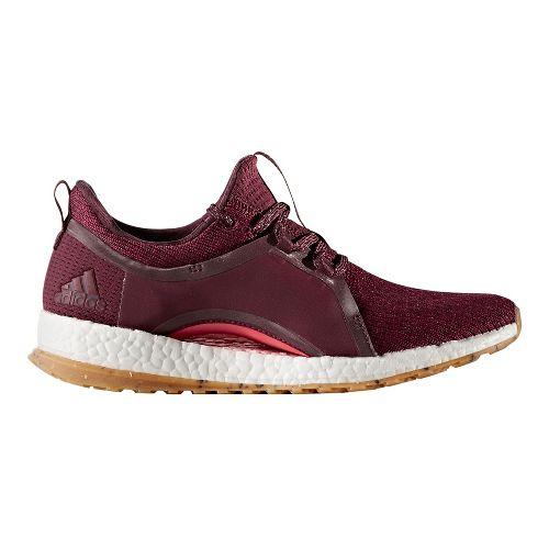 Womens adidas PureBoost X ATR Running Shoe - Ruby/Coral 9.5