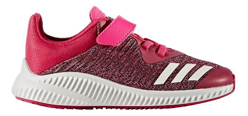 adidas FortaRun EL Running Shoe - Pink/White 3.5Y