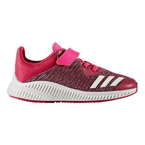 adidas FortaRun EL Running Shoe - Pink/White 4Y