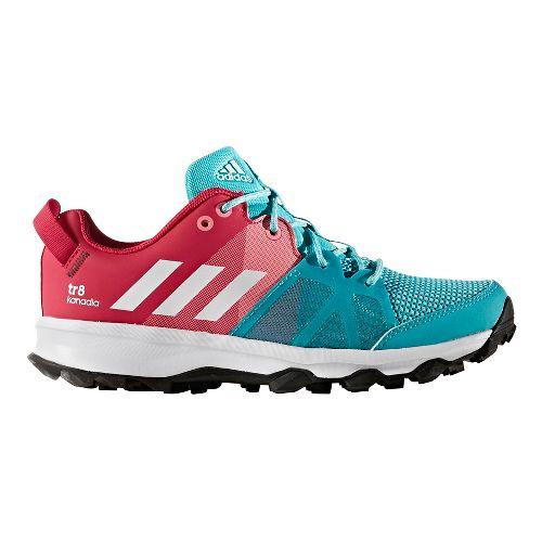 adidas Kanadia 8 Trail Running Shoe - Energy Blue/Pink 7Y