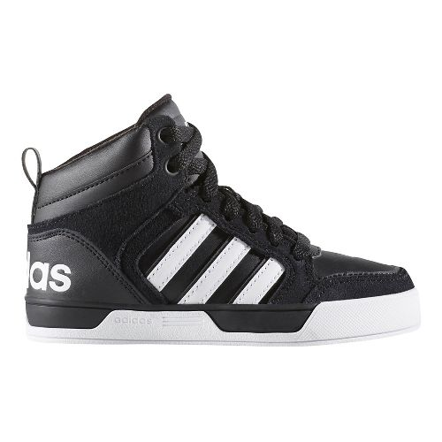 adidas Raleigh 9TIS Mid Casual Shoe - Black/White 6Y