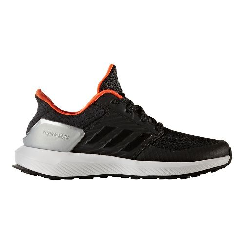 adidas RapidaRun Running Shoe - Black/Energy 4Y