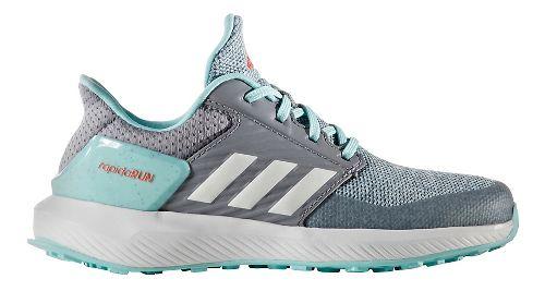 adidas RapidaRun Running Shoe - Grey/Aqua 6.5Y